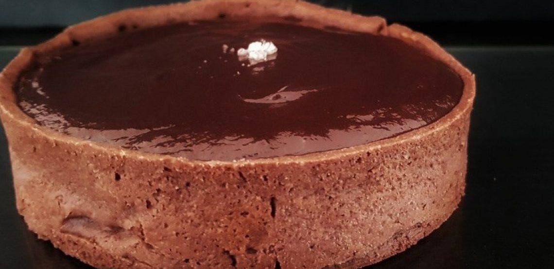 ricetta della crostata cioccolato e caramello