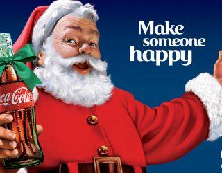 Coca Cola Babbo Natale.Babbo Natale E Coca Cola Marketing Cibo E Cultura Famelici