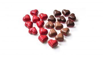 san valentino dolce: cioccolato a forma di cuore di luigi biasetto