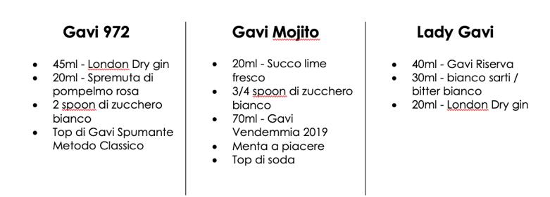 cocktail Gavi