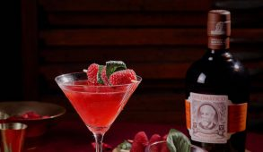 cocktail Raspberry Drop per festeggiare la ripartenza