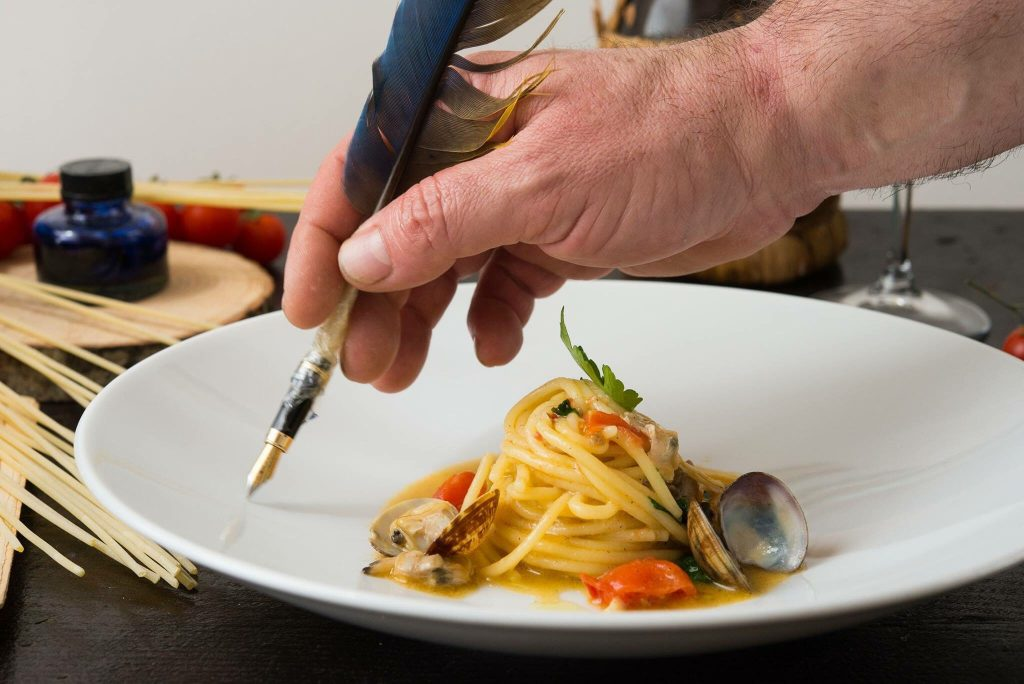 cucina gourmet in costiera amalfitana a Furore presso Bacco