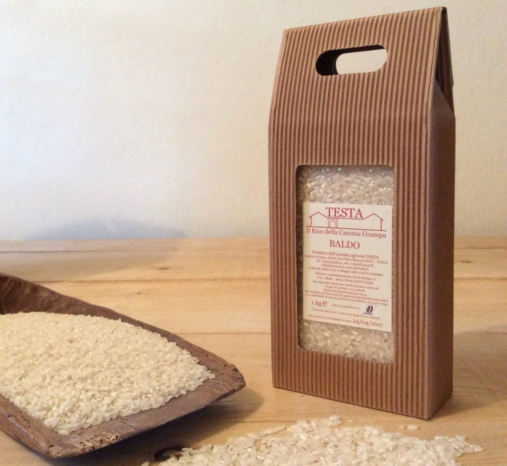 quale varietà riso: risotesta baldo