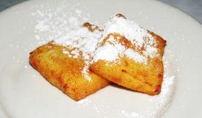 ricetta del dolce al latte fritto di Teresa Castelli di Cerignale