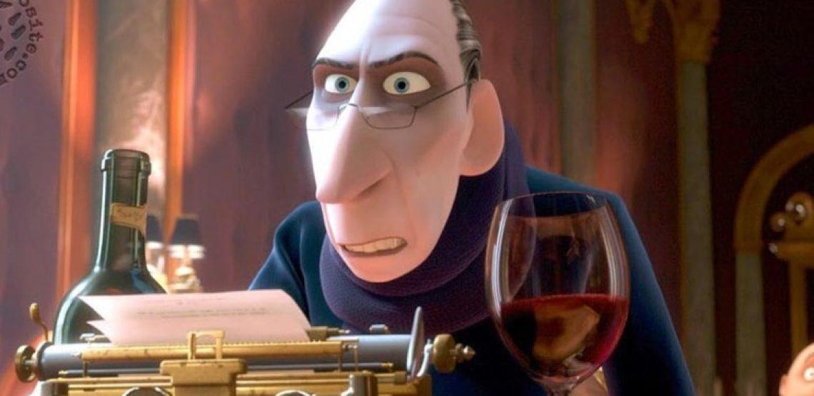 Ratatouille e se fosse il critico enogastronomico il vero eroe del film?