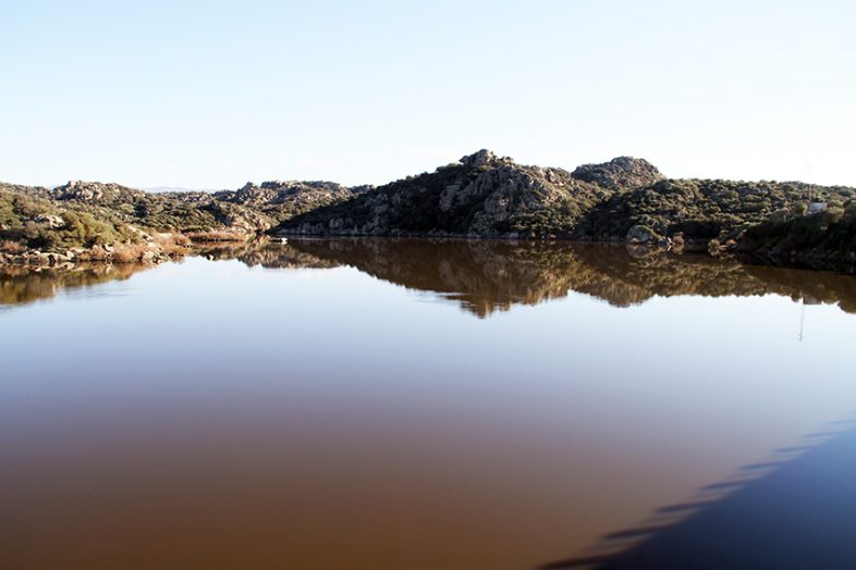 viaggio a oschiri: lago coghinas