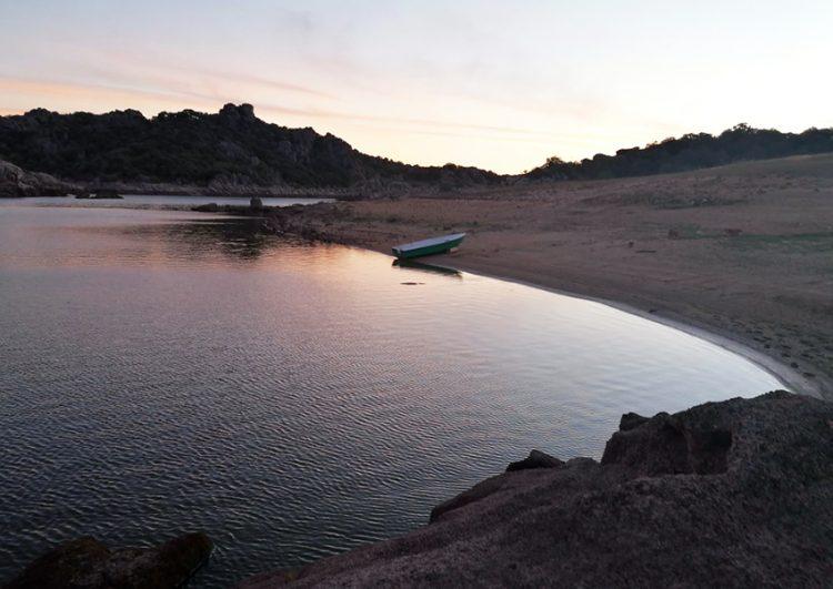 viaggio a oschiri: lago di coghinas