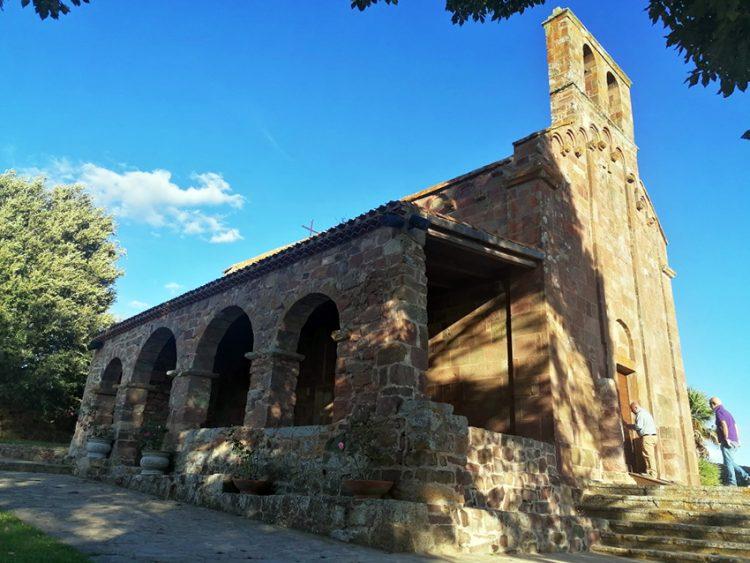 viaggio a Oschiri: chiesa signora di castro